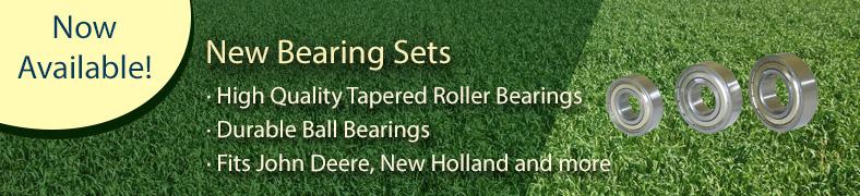 New Bearings Sets