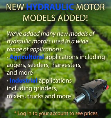 NewHydraulicMotorModelsAdded