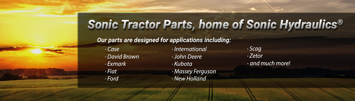 Sonic Tractor Parts